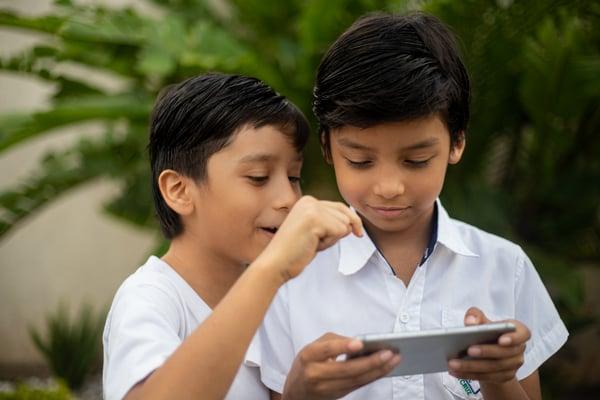 Niños y las TIC en la educación