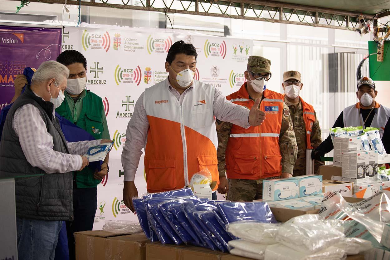 World Vision entrega insumos médicos a SEDES ante riesgos biológicos por coronavirus